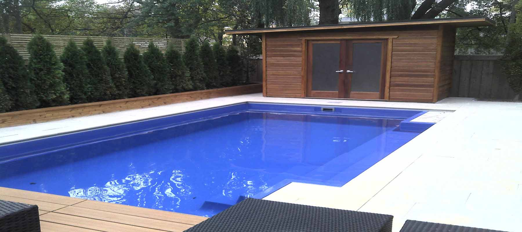 Leisure Pools Of Toronto Fiberglass Swimming Pool