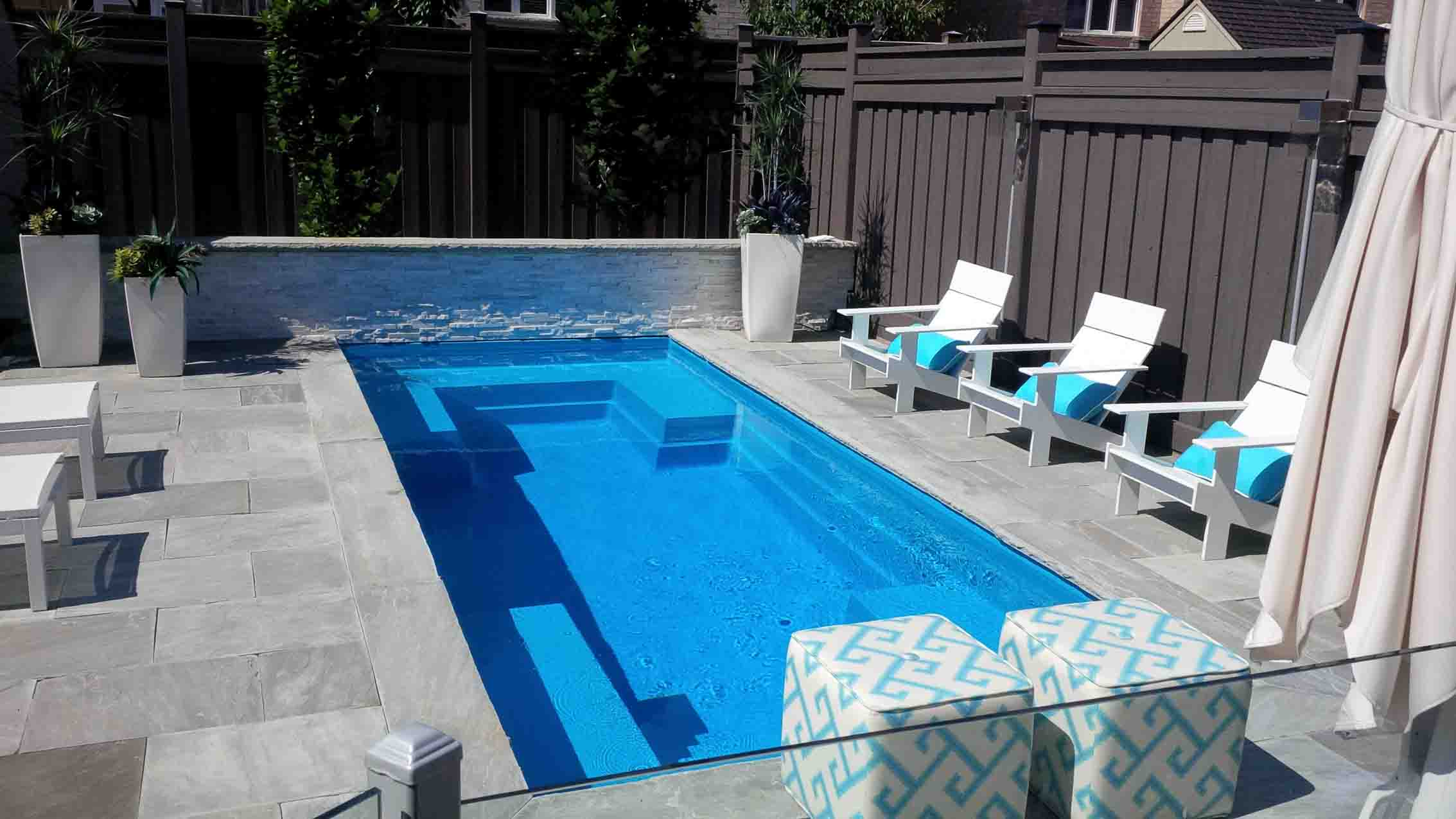 Fiberglass Inground Swimming Pools And Spas